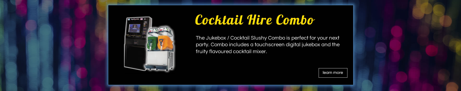 cocktail hire combo